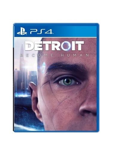 Sony Detroit Become Human PS4 Oyun - Türkçe Menü Renkli